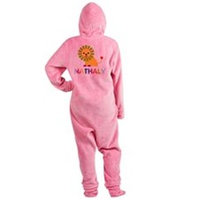 Nathaly-the-lion Footed Pajamas