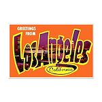 Los Angeles California Greetings Mini Poster Print