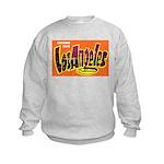 Los Angeles California (Front) Kids Sweatshirt