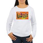 Los Angeles California (Front) Women's Long Sleeve