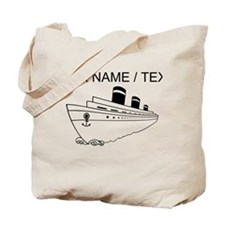 Custom Cruise Ship Tote Bag