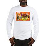 Los Angeles California (Front) Long Sleeve T-Shirt