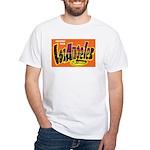 Los Angeles California Greetings White T-Shirt