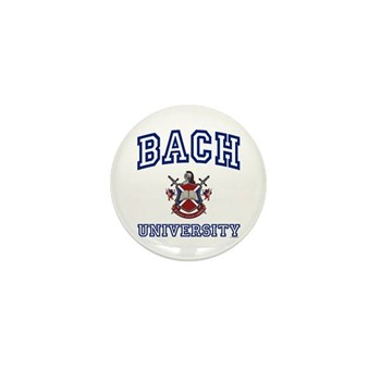 BACH University Mini Button (100 pack)