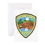 Tuolumne Sheriff Greeting Cards (Pk of 10)