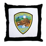 Tuolumne Sheriff Throw Pillow