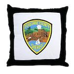 Tuolumne Sheriff Throw Pillow