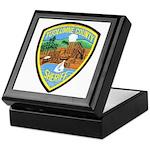 Tuolumne Sheriff Keepsake Box