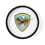 Tuolumne Sheriff Wall Clock