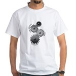 Geared For Success White T-Shirt