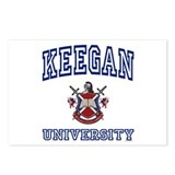 KEEGAN University Postcards (Package of 8)