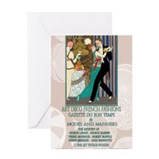 1 A BARBIER LA DANSE Greeting Card