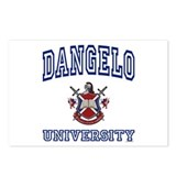 DANGELO University Postcards (Package of 8)