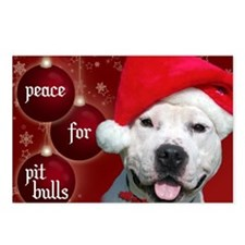 PEACE Christmas Card Outs Postcards (Package of 8)
