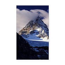 Mount Assiniboine. Fall color Rectangle Car Magnet