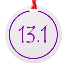 Purple 13.1 Ornament