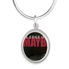 The-Edge-of-Maybe-fullFINAL Silver Oval Necklace