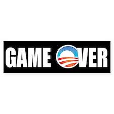 Game Over Obama Bumper Bumper Sticker
