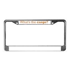 Truck_Driver_Cargo_RK2011_ 21x License Plate Frame