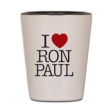 i_love_ron_paul Shot Glass
