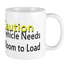 Caution Handicapped Mug