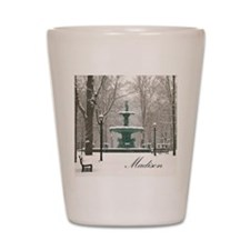 Winter fountain box Shot Glass