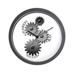Geared For Success Wall Clock