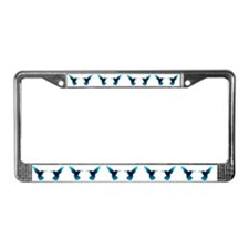 Hummers WHT License Plate Frame