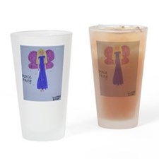 peacePurple Drinking Glass