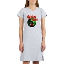 Dancing with the Stars Green Di Women's Nightshirt