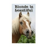Haflinger Rectangle Sticker