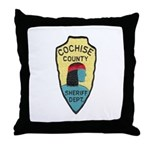 Cochise County Sheriff Throw Pillow