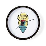 Cochise County Sheriff Wall Clock