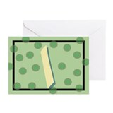 """I"" Pokla-Dot Greeting Cards (Pk of 10)"