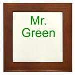 Mr. Green Framed Tile