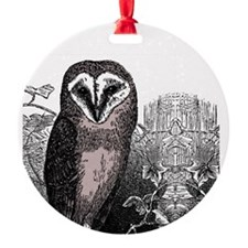 OwlRound Ornament