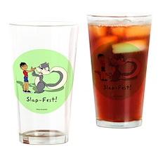 slap fest Drinking Glass