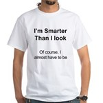 The smart shirt White T-Shirt