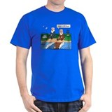 Fishing With Moses Royal Blue T-Shirt