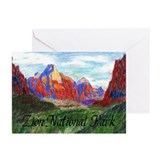 Zion: Down Canyon Greeting Cards (Pk of 10)