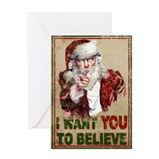 believe_poster Greeting Card