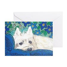 MouseLite Westie Greeting Card
