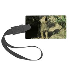wolf puppy Luggage Tag