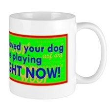 Flyball Right Now Mug