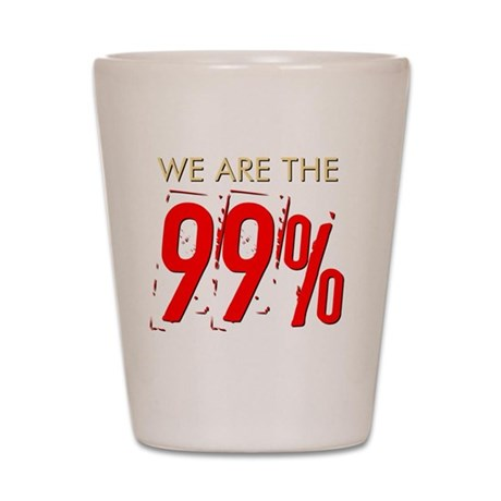 we-are-the-99percent Shot Glass