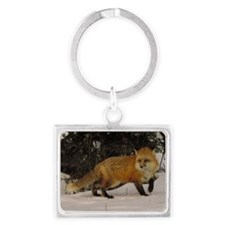 fox mp Landscape Keychain