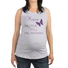 Butterfly_grandma Maternity Tank Top