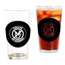 PAND2x2BWRound Drinking Glass