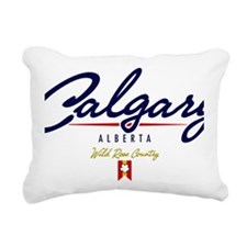 Calgary Script W Rectangular Canvas Pillow