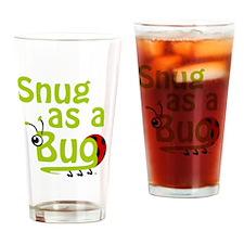 LG-Snug-Green-10x10 Drinking Glass